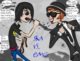 Ska Vs Emo by The-Ska-Boss by Chill-morte