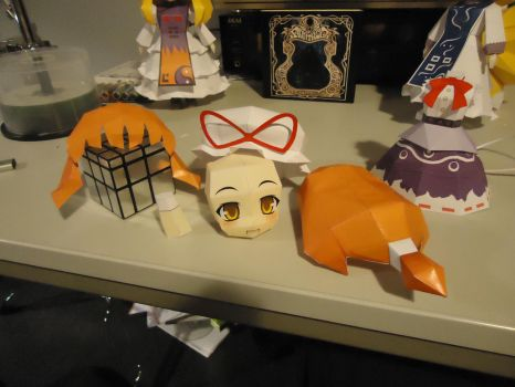Suika Papercraft (WIP) by TheBBmTV