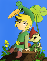 The Legend Of Zelda- Minish Cap by Croxfod106