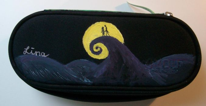 Pencil case - the nightmare before christmas by Quirinuslr