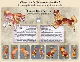 Character Auction - Anisim and Kai - Closed by soulofwinter