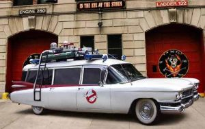 Ghostbusters Ecto-1 by darqueraven