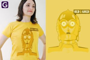 Olb but Gold T Shirt by ChamaCamisetas