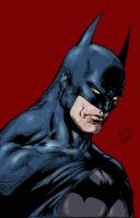 Ed Benes Dark Knight Colored by IgorChakal