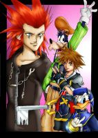 kingdom hearts 2 oO by Sandra-delaIglesia