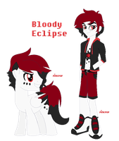 R63: Blood Moon/Bloody Eclipse by PinkPopcornWithSoda