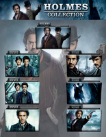 Sherlock Holmes Collection Folder Icon Pack by wchannel96