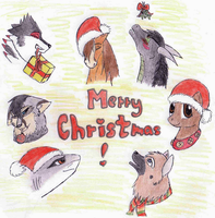 Merry Christmas by M-is-h-a-N