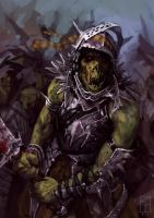 ORC HURRRDE by Kamikazuh
