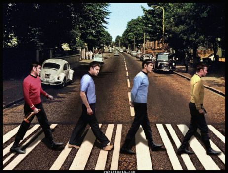 Star Trek Abbey Road by Rabittooth