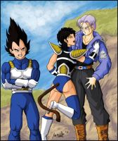 Problems, Vegeta? by vampirisa