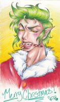 Merry Christmas From Grinch by Queran