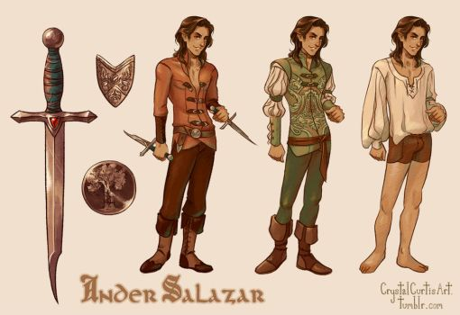 Ander Salazar by CrystalCurtisArt