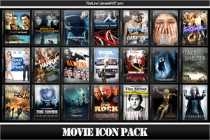 Movie Icon Pack 48 by FirstLine1