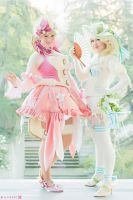 Sakizou - Pearl and Opal by Eli-Cosplay