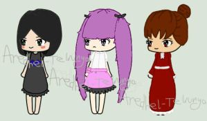 Free Giveaway - Gothic Lolitas [3/3 OPEN] by Aredhel-Telrunya