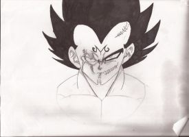 Vegeta's Child's Play (WIP2) by roseoffate45
