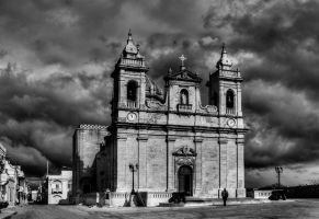 Zebbug Gozo Church II by davidsant