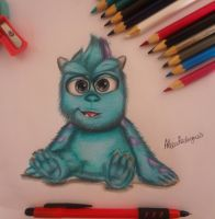 Baby Sulley by AlexiaRodrigues