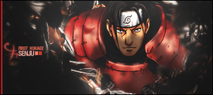 Hashirama Senju Sig by GreenMotion