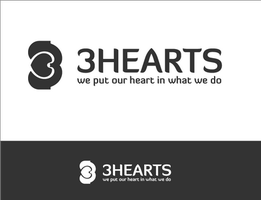 Logo 64 - 3Hearts - For Sale by AryaInk