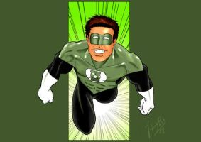Green Lantern Color by JoaoRodrigoBaptista