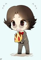 .: Mouse Drawn Chibi Simon :. by Radical-Rhombus-XD