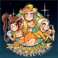 Orange Caramel by pure1water