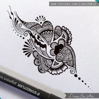 Another Easy Henna Mehndi Design by LinesInAir