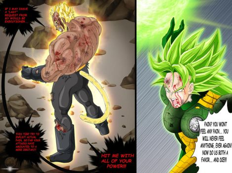 SSJ EMPEROR DAJJAL vs LSSJ COLEY COMMISSION by ERIC-ARTS-inc
