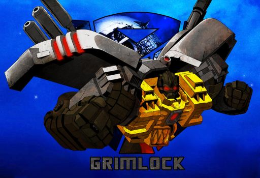 Grimlock character sketch thingy  :D by Ahrrr