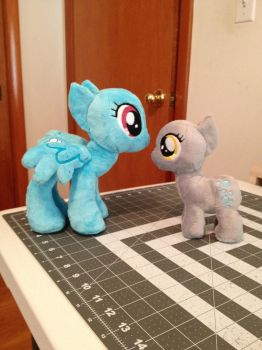 Small mare and filly wip by ArtisanAlley