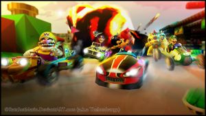 GM - Mario Kart Mayhem by RatchetMario