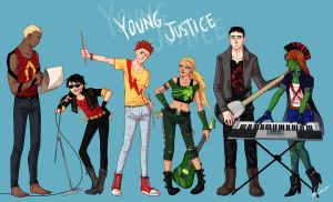 YJ the rock band by hawberries