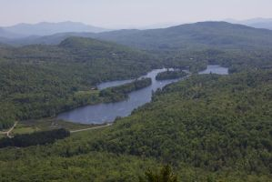 View from MT. Norris by OwenneiL