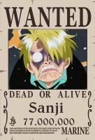 Sanji wanted! by sturmsoldat1