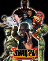 Shaq Fu Poster by Louie82Y