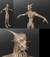 Sculptris demon by joe-tachi