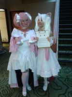 NDK - Madoka and Kyubey by dawnflower8