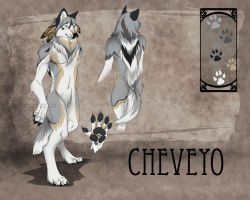 Cheveyo 'Were' Reference Sheet by Chevey-o