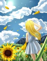 Sunflowers by Sapphire-hime