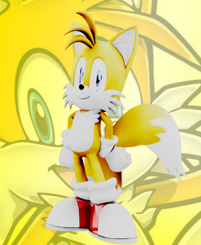 [Contest Entry] Miles ''Tails'' Prower by Mike9711