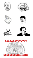 Mexican Rage Faces by GeorgeBoden