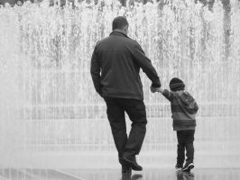 Father and Son: Trust and love by matthew-lane