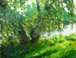 Willow by the Erie Canal by niteflyerfaerie