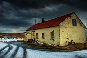 Iceland - abandoned lost farm by PatiMakowska