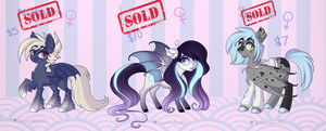 Batpony adoptables CLOSED by frostedpuffs