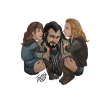 The Line of Durin by Tsenny