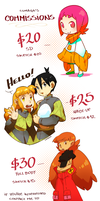 Commissions by Lumaga