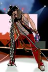 Steven Tyler by deanfenechanimations